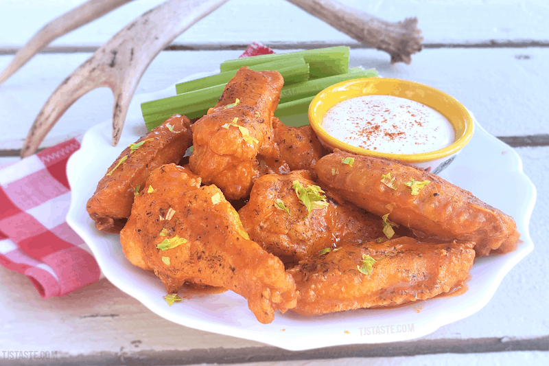 TJ's Epic Hot Wings (THM S • Keto • GF)