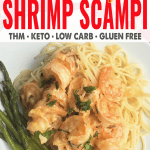 TJ's Cheesy Shrimp Scampi