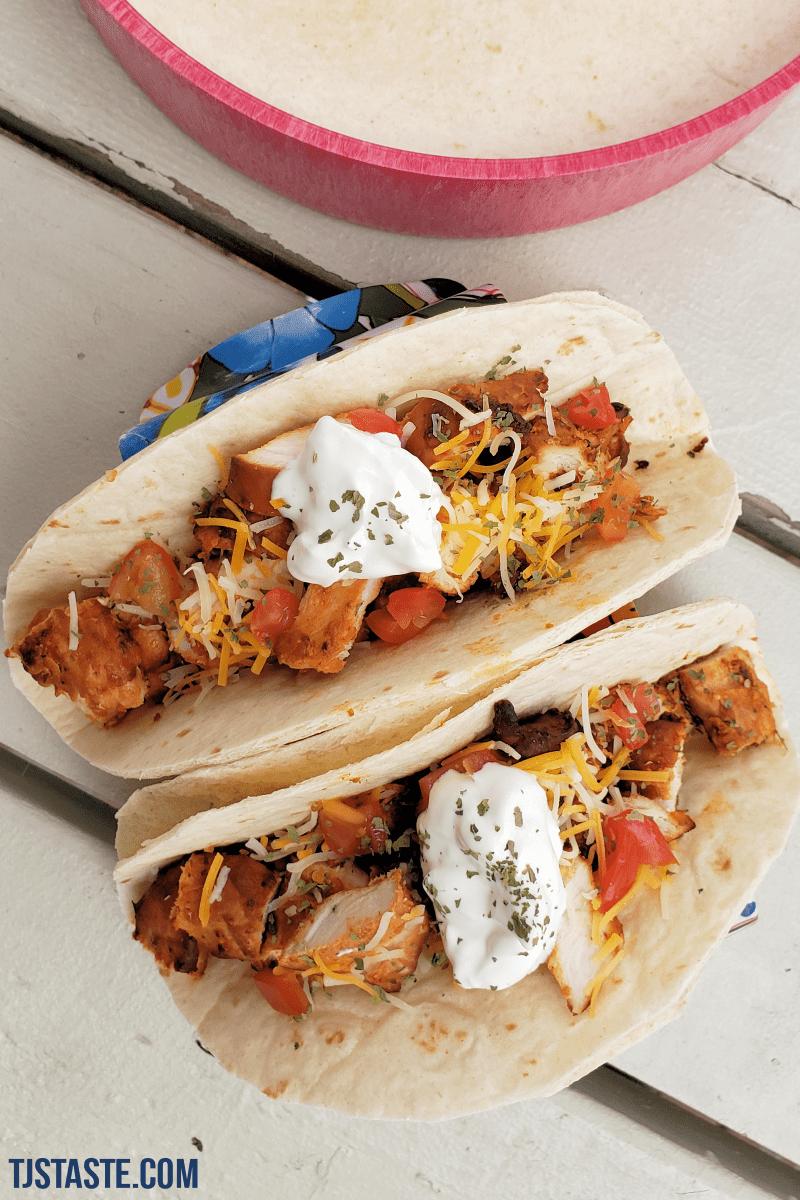 Ultimate Chicken Tacos
