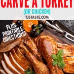 How to Carve a Turkey (or Chicken) • Turkey Photos by Fahrwasser