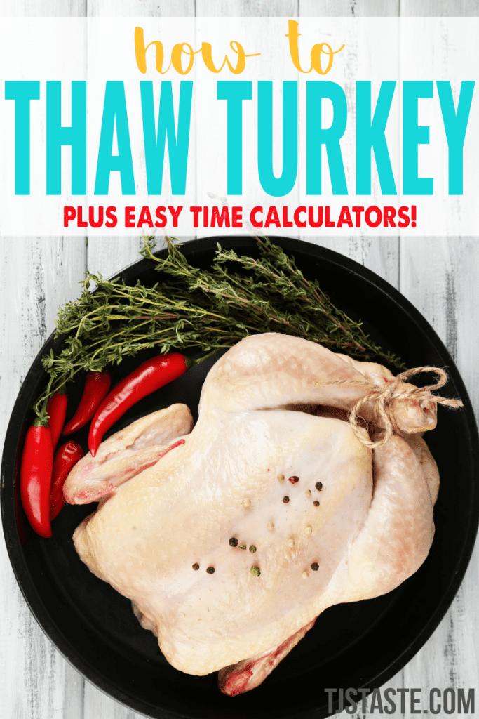 How to Thaw Turkey Photo by Serezniy