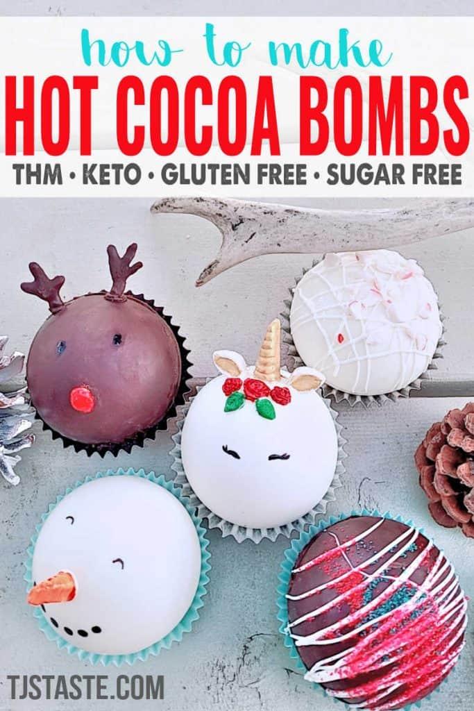 How to Make THM & Keto Friendly Hot Cocoa Bombs