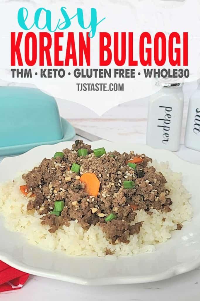 Easy Korean Bulgogi