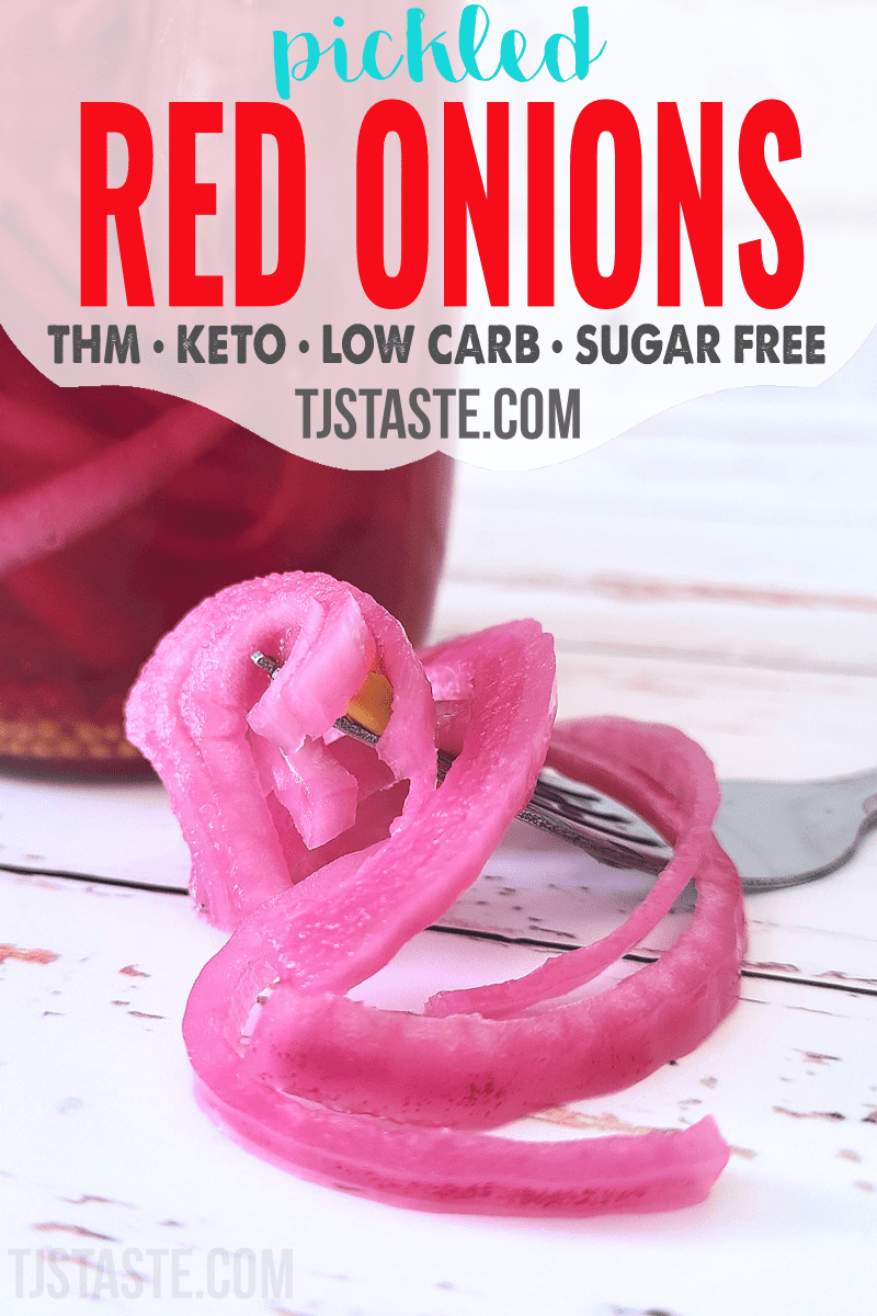 Sugar Free Pickled Red Onions