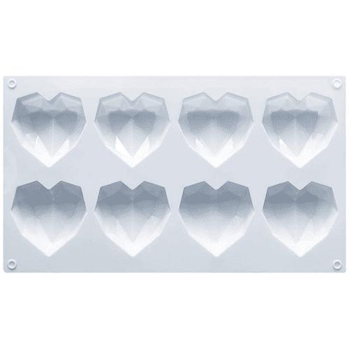 Valentine's Hot Cocoa Bombs Silicone Heart Mold