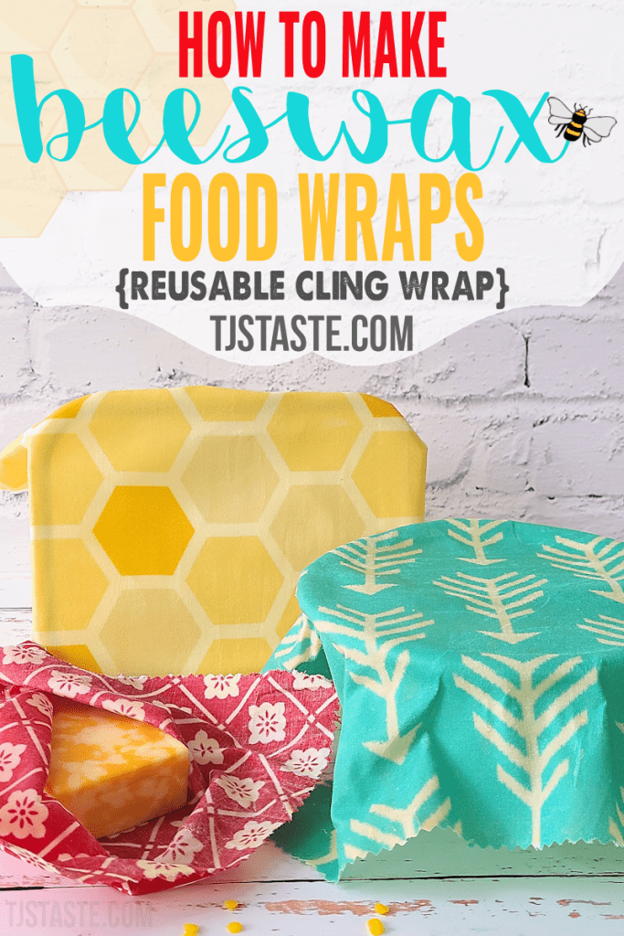 How to Make Beeswax Food Wraps (Reusable Cling Wrap)