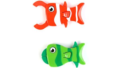 Shrockie Fish Clips